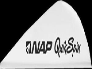 "New Archery Products Quik Spin St 2"" Speedhunter White Vanes"