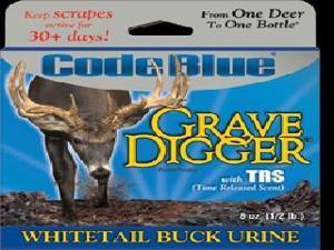 Code Blue Grave Digger Buck Urine