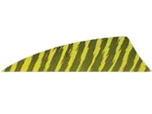 "Gateway Feather Rayzr 2"" Rw Feathers Yellow Barred"