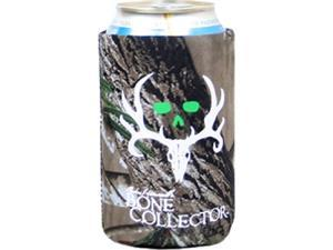 Absolute Eyewear Solutions Bone Collector Can Coozie Lime Green With White Logo