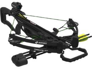 Barnett Outdoors 2016 Recruit Compound Crossbow Package With Red Dot Scope