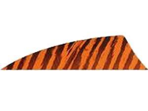 "Gateway Feather Rayzr 2"" Rw Feathers Orange Barred"