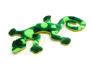 """Green Gecko 12"""" by Wish Pets"""