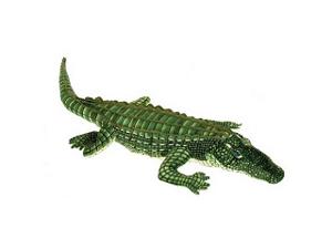 "Fiesta Toys Green Alligator Plush 41"""
