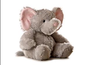"""Tubbie Wubbie Elephant 12"""" by Aurora"""