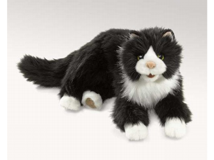 """Tuxedo Cat 16"""" by Folkmanis Puppets"""