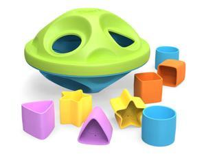 """Eco Friendly Shape Sorter 9"""" by Green Toys"""