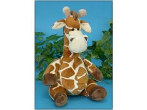 "Sitting Potbelly Giraffe 7"" by Wish Pets"