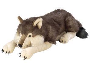 (NEW) Cuddlekins Wolf  30-Inch