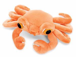"Peepers Claws Orange Crab Md 8"" by Russ Berrie"