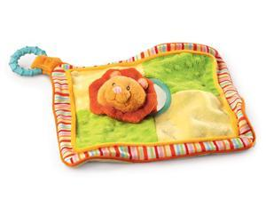 """Lion Activity Blankie 16"""" by Russ Berrie"""