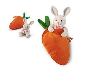 """Carrot Surprise 12"""" by Russ Berrie"""