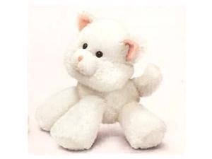 "Snug-A-Luvs White Cat 6"" by Russ Berrie"