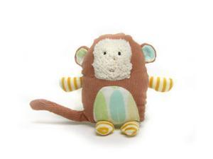 """Character Rattle Monkey 6"""" by Russ Berrie"""