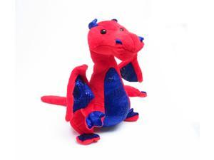 """Standing Red Dragon 11"""" by Wish Pets"""