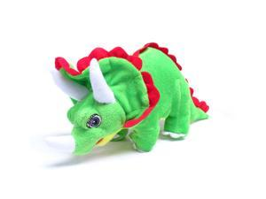 """Standing Green Triceratop 12"""" by Wish Pets"""