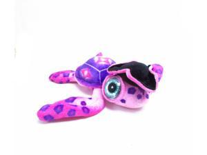 "Big Eyed Pink Sea Turtle with Pirate Hat 11.5"" by Fiesta"