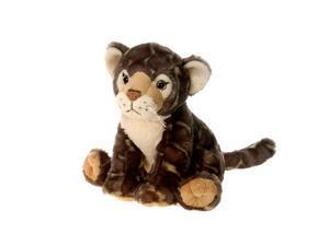 "Sitting Bean Bag Clouded Leopard 10"" by Fiesta"