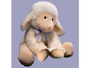 "Fleecia Lamb Jumbo 23"" by Russ Berrie"