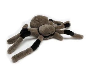 """Leggy Brown and Black Spider 9"""" by Wish Pets"""
