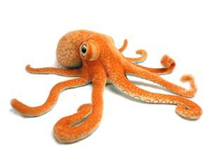 "Orange Octopus Large 28.5"" by Wish Pets"