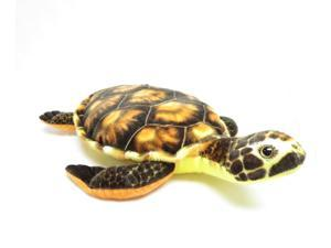 "Orange Sea Turtle 16"" by Wish Pets"