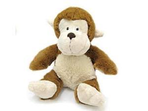 """Sitting Potbelly Light Brown Monkey 7"""" by Wish Pets"""