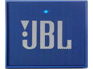 JBL GO Portable Wireless Bluetooth Speaker with Built In Strap Hook (Blue)
