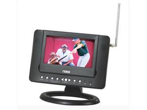 07 inch Naxa NTD-7561 Widescreen AC/DC Digital LCD TV w/ DVD Player and USB/SD/MMC Inputs