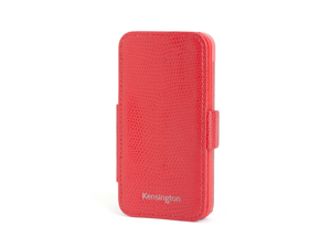 Kensington Portafolio Duo Red Snake Solid Wallet for iPhone 5 K39618WW