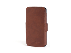 Kensington Portafolio Duo Brown Marble Solid Wallet for iPhone 5 K39616WW