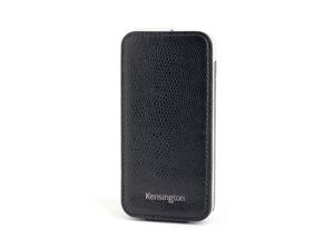 Kensington Portafolio Black Snake Solid Flip Wallet for iPhone 5 K39610WW