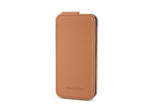 Kensington Portafolio Tan Nappa Solid Flip Wallet for iPhone 5 K39605WW