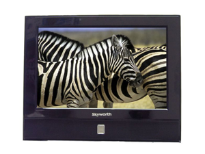 13.3 inch Skyworth SLC-1369A AC/DC 12 Volt Digital HDTV LED Back Light & DVD Player