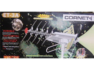 Cornet Mobile UHF-VHF-FM 360 Degrees Rotating Antenna ET-3A