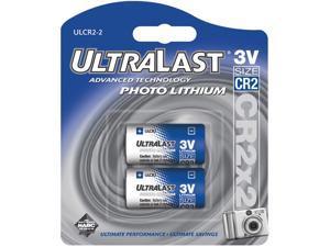 UltraLast CR2 Photo Lithium Battery - 2 Pack (CR2-2)