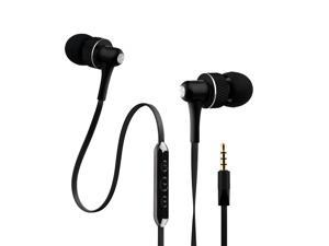 NoiseHush Black 3.5mm Handsfree Stereo Headset with Mic and Audio Controls - NX45i-12062