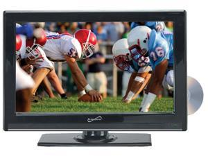 22 Inch Supersonic SC-2212 12 Volt AC/DC Widescreen LED 1080p HDTV ATSC Digital Tuner w/ DVD Player