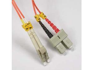 Arrowmounts Fiber Optic Jumper 5m LC-SC Duplex Multimode 62.5/125 Fiber Optic Cable (AM-FOJ2743)