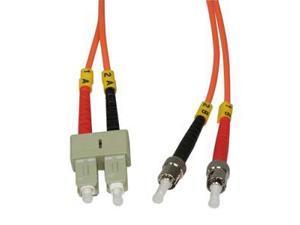 Arrowmounts Fiber Optic Jumper 1m ST-SC Duplex Multimode 62.5/125 Fiber Optic Cable (AM-FOJ2701)