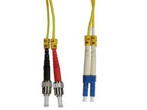 Arrowmounts Fiber Optic Jumper 5m LC-ST Duplex Singlemode 9/125 Fiber Optic Cable (AM-FOJ2870)