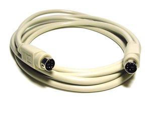Monoprice 25ft PS/2 MDIN-6 Male to Male Cable