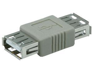 USB 2.0 A Female to A Female Coupler Adapter  (362)
