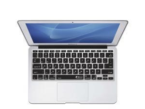 "KB Covers Dvorak Keyboard Cover for MacBook Air 11"" (Unibody, Black Keys) - ISO Model DV-M11-CB-2"