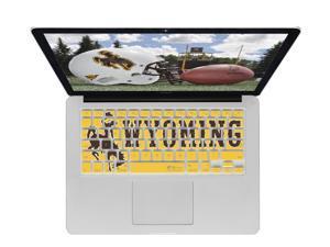 KB Covers University of Wyoming Keyboard Cover for MacBook/Air 13/Pro (2008+)/Retina & Wireless (WYOMING1-M-EDU)