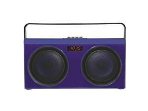 Supersonic Wireless Party Bluetooth® Portable with Speaker FM (SC-1407BT) Blue