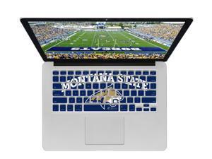 KB Covers Montana State Keyboard Cover for MacBook/Air 13/Pro (2008+)/Retina & Wireless (MONTANAST1-M-EDU)
