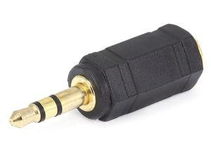 Monoprice 3.5mm Stereo Plug to 2.5mm Stereo Jack Adaptor - Gold Plated