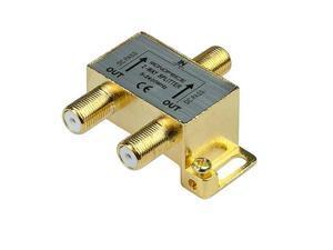 Monoprice 10013 PREMIUM 2 way Coax Cable Splitter