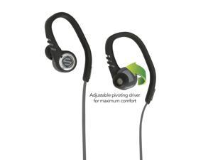 SCOSCHE sportCLIPS 3 Black HPSC3TI Earbuds with tapIT remote and mic